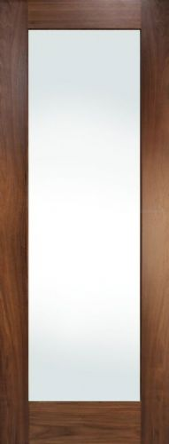 DOOR WALNUT CHESHIRE SHAKER PREFINISHED GLAZED 44MM (ALL SIZES)